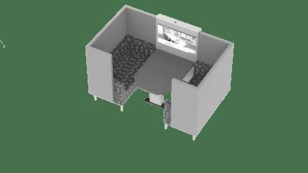 FOCUS 4 seat_Grey hex fabric 2