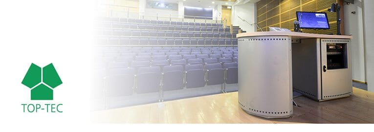 AV Lecterns by TOP-TEC | AV Furniture To Suit All Budgets & Spaces
