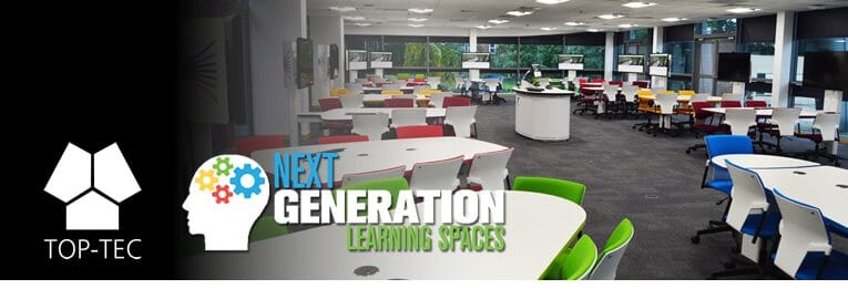 TOP-TEC Return as Sponsors for Next Generation Learning Spaces 2018