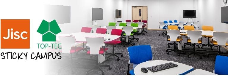 Join us at the JISC Sticky Campus Roadshow |The Benefits Of Collaborative Workspace Furniture For Students
